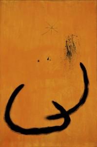 Joan Miró: Goutte d'eau sur la neige rose