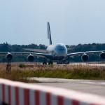 Airbus A380 wieder am Baden Airport<br />Bild: Deutsche Lufthansa