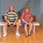 Duane Hanson: Old Couple on a Bench