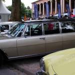 Mercedes-Meile vor der Trinkhalle