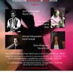 Konzertplakat Simin Khakpour