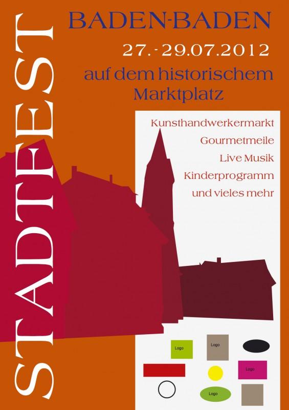 Stadtfest Baden-Baden Juli 2012