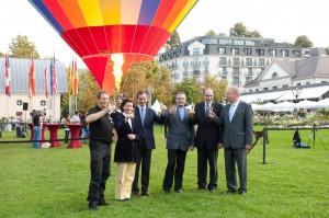 Baden-Baden-Ballontaufe